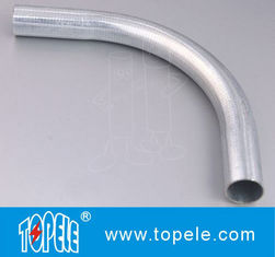 Cina 1/2 - di Pre-galvanized Steel Pipe Elbow EMT Conduit And Fittings dilas / Stainless Steel Elbow pemasok