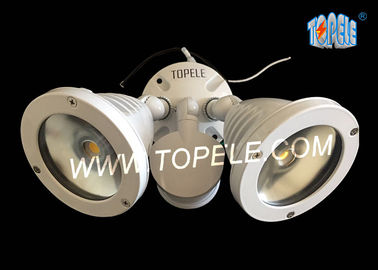 1100LM LED Outdoor Security Lighting Exterior Lampu Banjir Fixture Dengan Sumber CREE LED