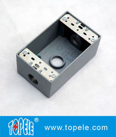 UL Standard Weatherproof Electrical Boxes ---- Kotak Outlet Satu Gang 3 Lubang