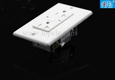 Square Style Panel Wadah Gfci Pop Up Socket Outlet Dengan Warna Kustom