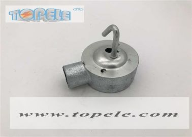 Cina TP116 BS4568 Conduit Fittings Gabungan Hook Dome Cover / Hook Plate pabrik