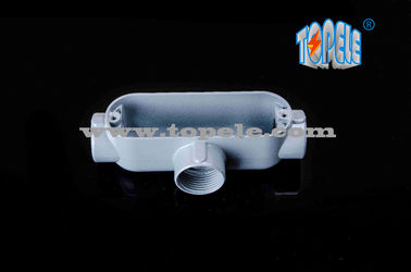 "Threaded Aluminium Die Cast Ringan Konduit Tubuh T Tipe 1/2 ""Ke 4"""